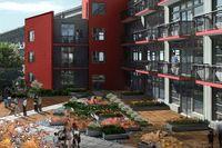 Ruby courtyard