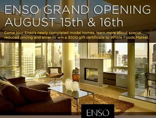 Enso Grand opening