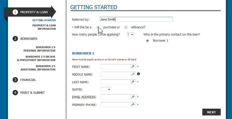 Mortgage App Online