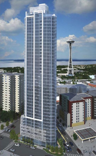 Tower Near Space Needle Will be Seattle Condos and Named Spire