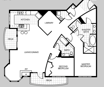 So Far, Iu0027m Most Impressed With Their 503 U0026 603 Floor Plan. While The Space  Could Be More Efficient Without The Long Entry Way, The Open Floor Plan In  The ...